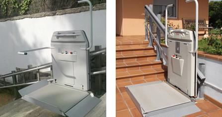 Salvaescaleras elevador plataforma salvaescaleras silla for Silla oruga salvaescaleras