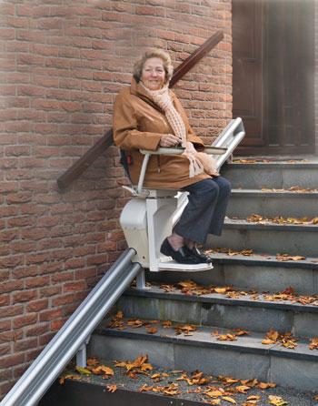 Silla salvaescaleras onyx enier for Sillas ascensores para escaleras precios