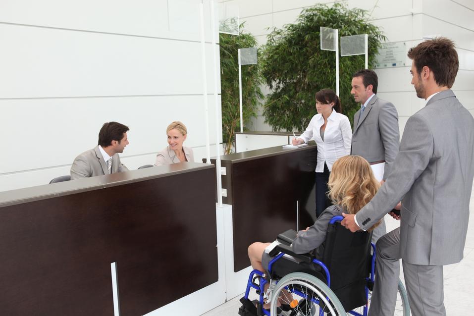 la accesibilidad en hoteles